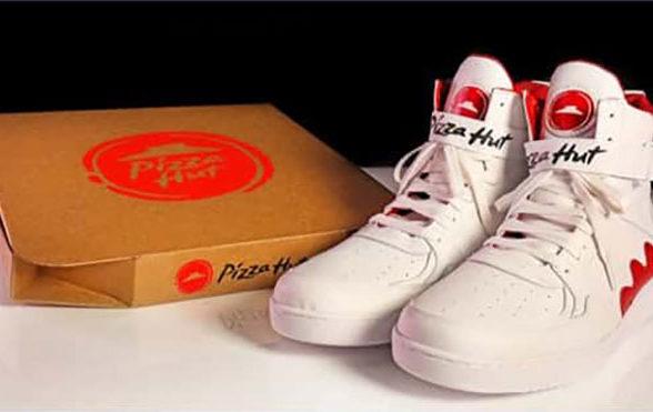 Закажи пиццу через кроссовки! • Vortex