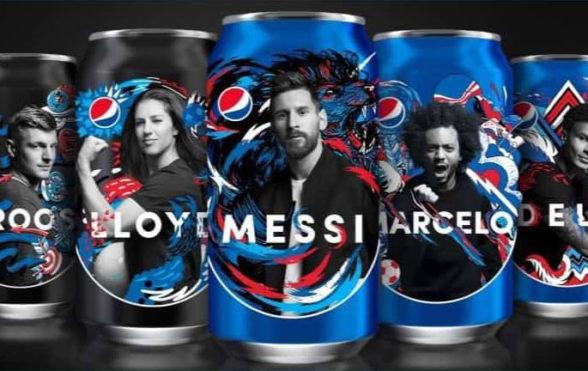Новый мир футбола от Pepsi • Vortex
